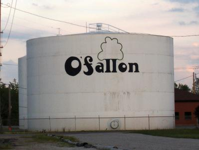 Old O'Fallon Water Towers