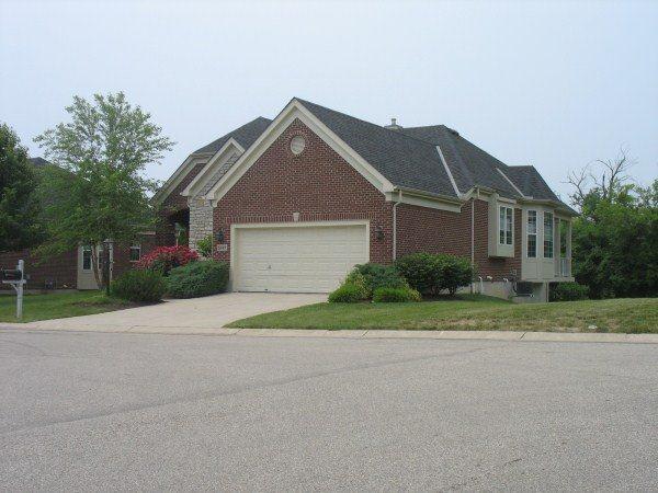 Whispering Falls patio homes in Mason Ohio
