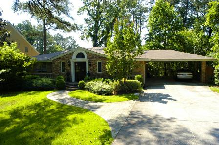 Mediterranean Villa disguised as a 60s Brick Ranch: 2439 Henderson Mill Road Atlanta GA 30345