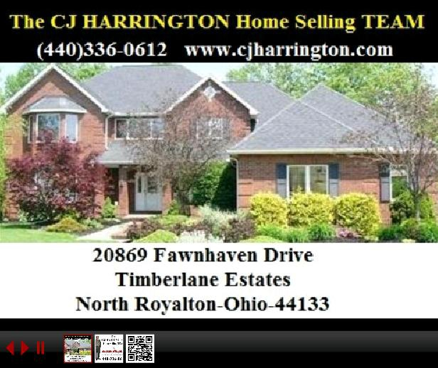 Cleveland Real Estate-20869 Fawnhaven Dr(North Royalton, Ohio 44133)...Call (440)336-0612 or Visit WWW.CJHARRINGTON.COM