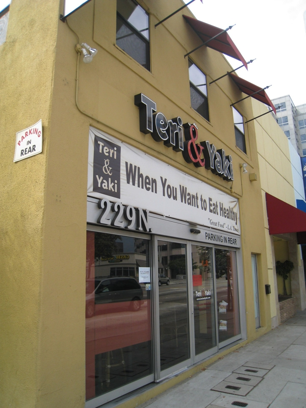 Teri & Yaki - Healthy Comfort Food in Pasadena
