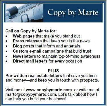 Marte Cliff Copywriting