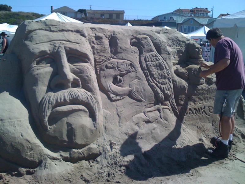 Sand Scuplture