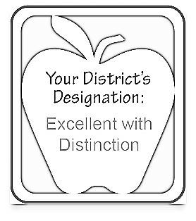 Ohio Department of Education grade by district