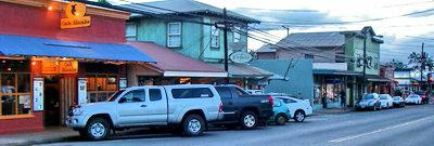 Paia in the evening, by Cafe Mambo on Baldwin Ave MAUI