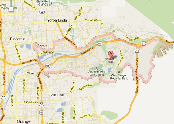 Anaheim Ca Zip Code Map.Why You Should Buy A Home In Anaheim Hills Ca