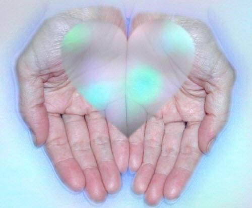 heart in hands-public domain image