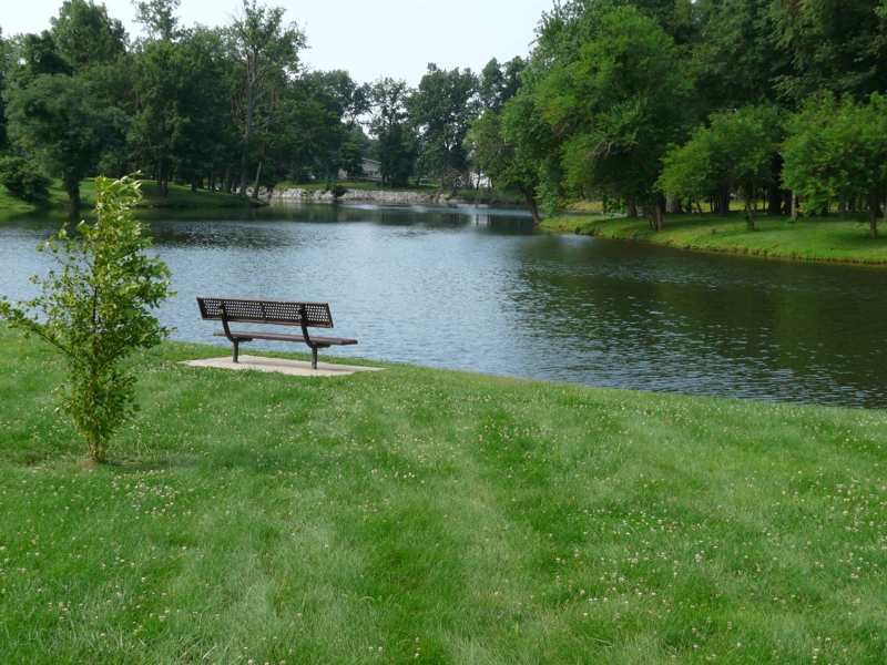 Maryville IL Homes for Sale Drost Park Lake