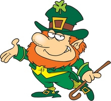 Happy St Patrick's Day-Fred Carver