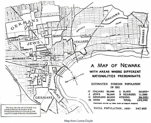Newark NJ Interesting Ethnic History