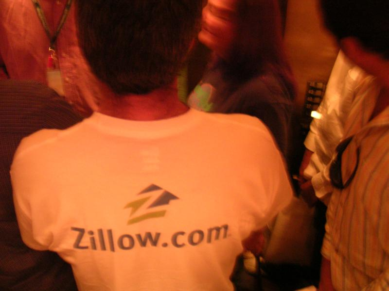 Zillow T-shirt on David G