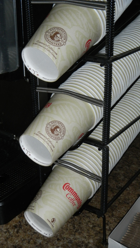 Paper Cups instead of styrofoam
