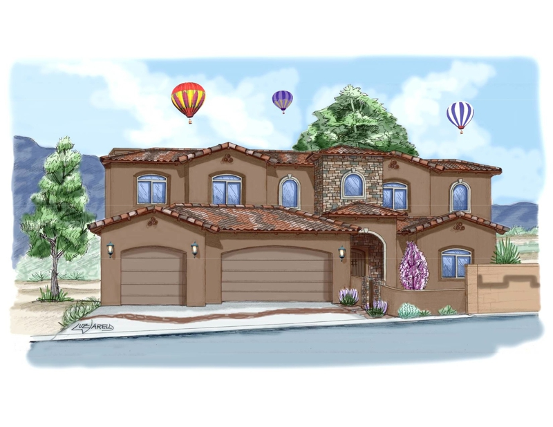 Parade of Homes in Albuquerque New Mexico