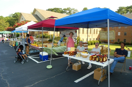 Saturday FARMERS MARKET at Northeast Baptist Church on Chamblee Tucker Road