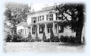 Riggs Thompson House Silver Spring circa early 1930's