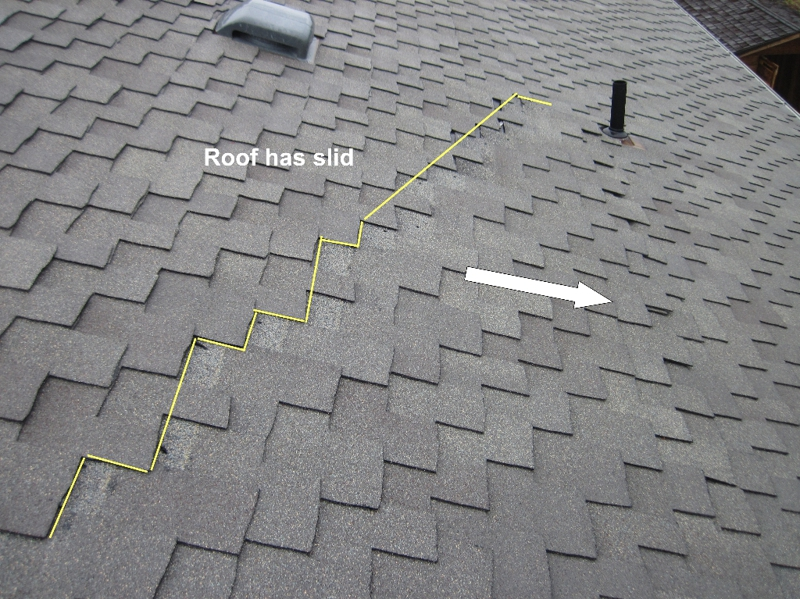 Poor Roofing Installation- Wenatchee Home Inspection