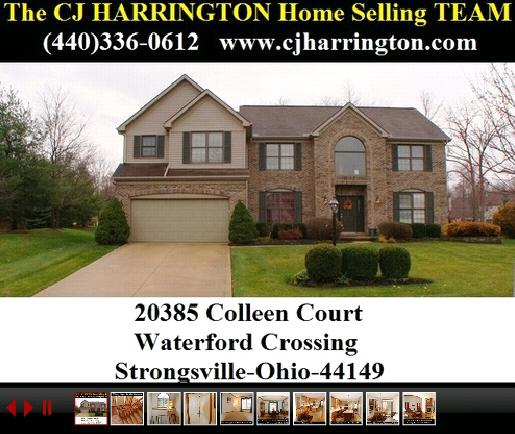 04-12-12 Cleveland Real Estate-20385 Colleen Crt(Strongsville, Ohio 44149)...Call (440)336-0612 or Visit WWW.CJHARRINGTON.COM
