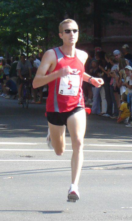 Jason Lehmkuhle - 3rd Place in New Haven 20k - 2007
