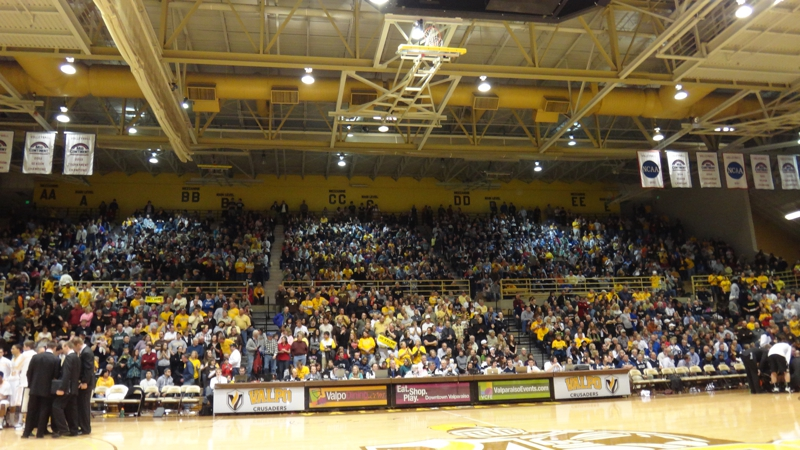 The Athletic Recreation Center at VU is sold out for Bulter Game on 2/24/12