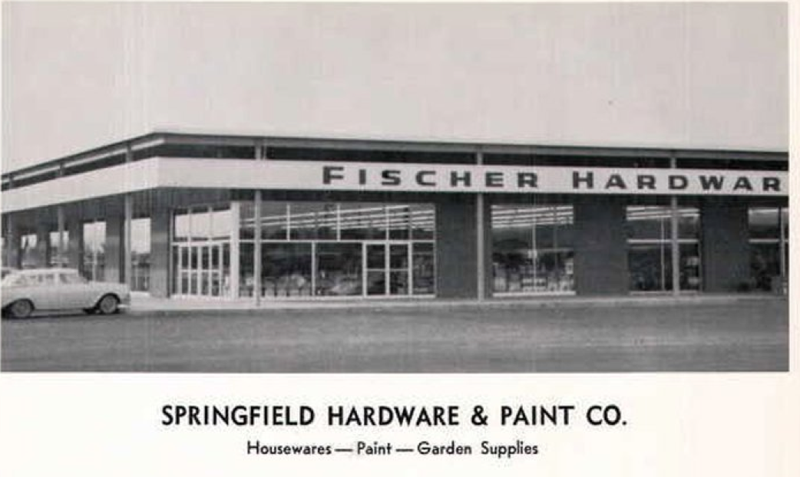 Fischers Hardware 1950's In Springfield VA