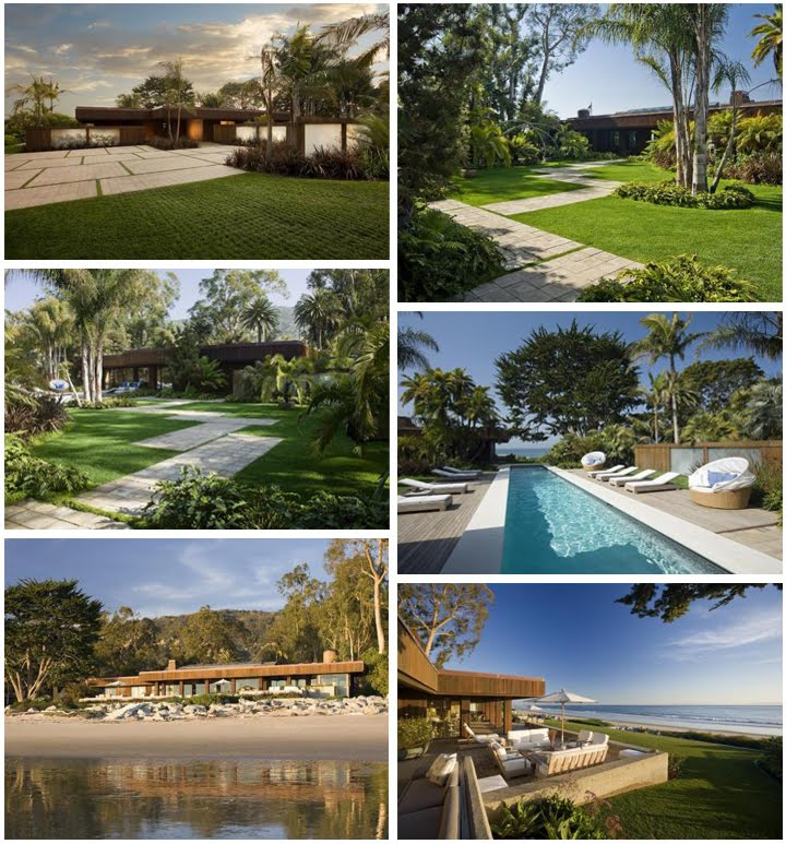 George Lucas Beachfront Estate