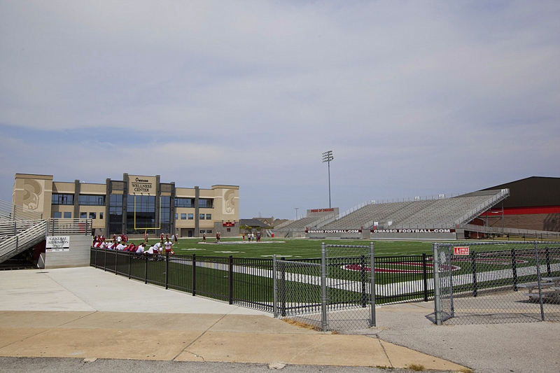 Owasso High School Football Field