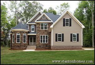 Cost Effective Home Building - Roof Lines Style Pitch - Custom Homes Raleigh NC