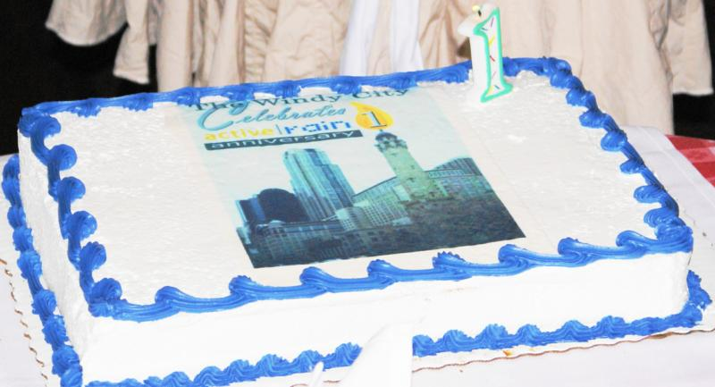Chicago's Active Rain Birthday Cake by Lucky Lang qcfsbr.com