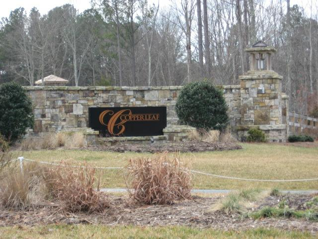 Copperleaf  Subdivision in Cary NC