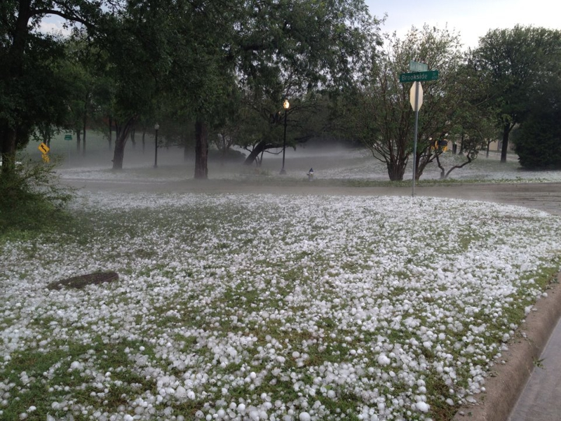 Dallas Hail Storm, June 2012 - DFW Real Estate