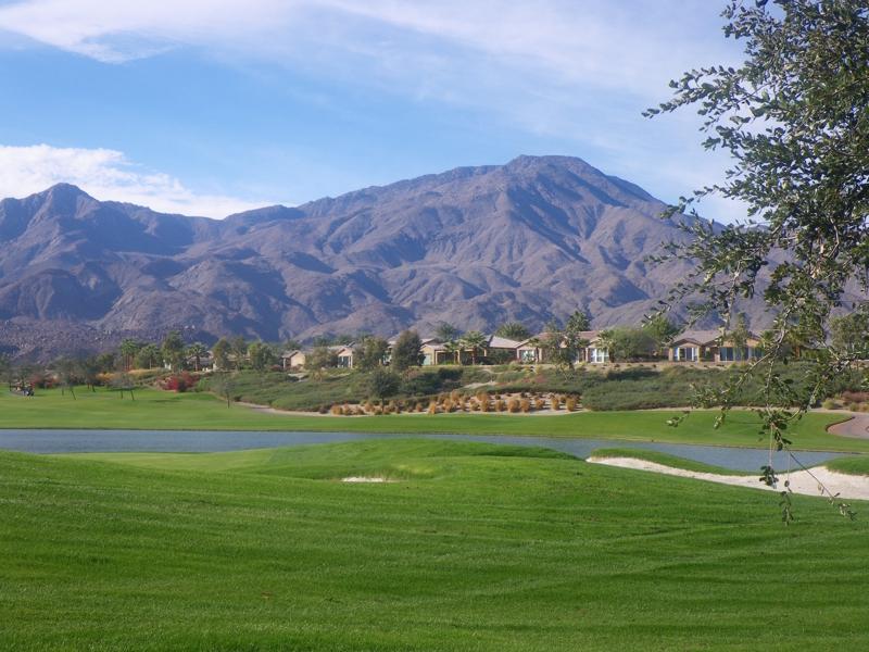 Golf vista at Trilogy La Quinta