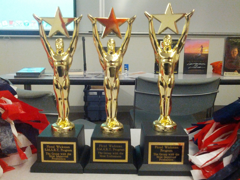 Our team won all three categories