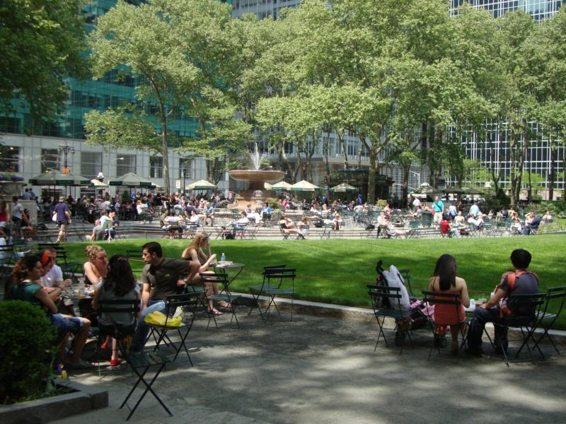 Bryant Park New York City by Feng Shui NYC consultant laura cerrano