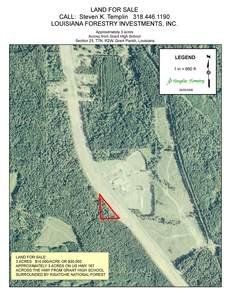 Homesite For Sale In Louisiana