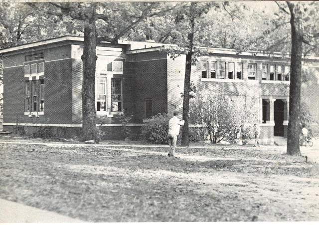 Harding gym 1948 Searcy AR
