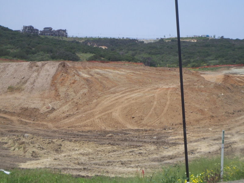 The future site of the Alga Norte Community Park in the La Costa rea of Carlsbad CA