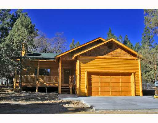 New log style construction in big bear for Log cabins in big bear
