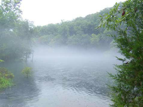 Little Red River mist