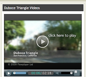 Duboce Triangle Video