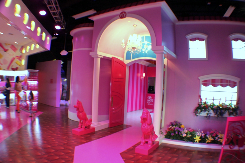 Barbie DreamHouse Debut in Sawgrass Mills Mall Sunrise Florida