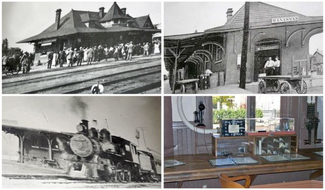 Old Manassas Railroad Depot Pictures