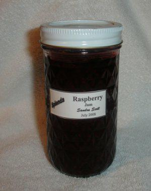 Raspberry Jam Picked on the Mogollon Rim
