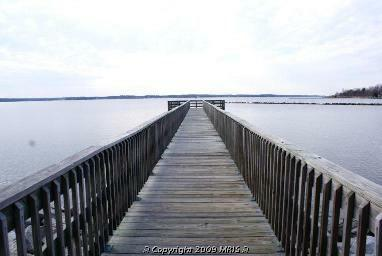 Community Pier on the Patuxent River