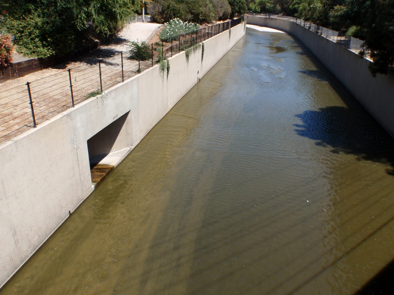 80 per cent of the LA River looks like this
