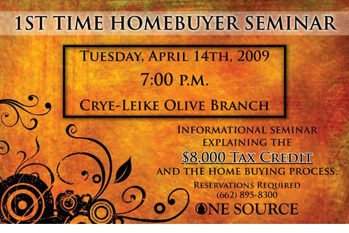 Olive Branch MS Homes Seminar