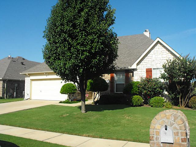 home for sale in wylie texas with a pond view