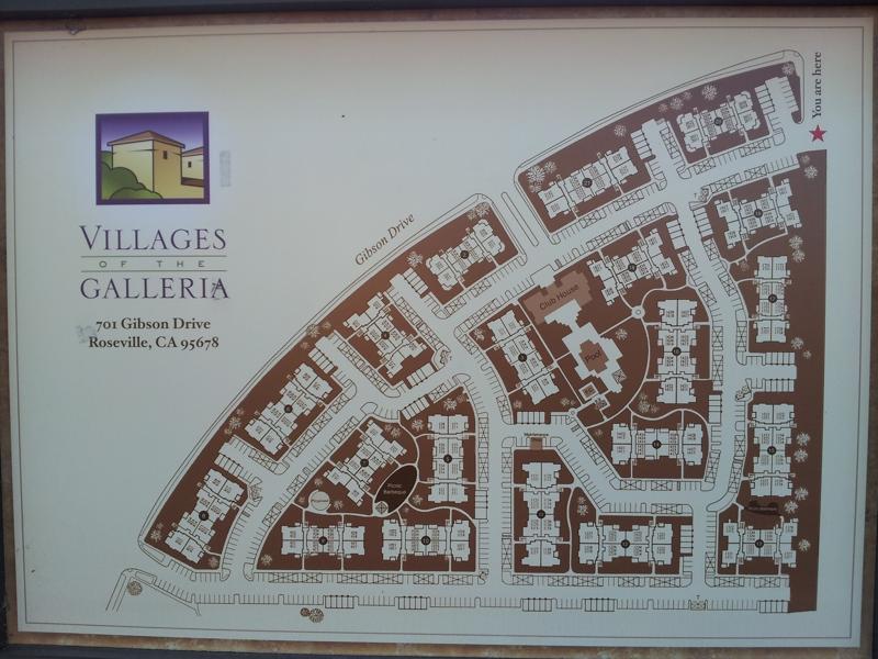 Villages Of The Galleria Condominiums In Roseville Ca 95678