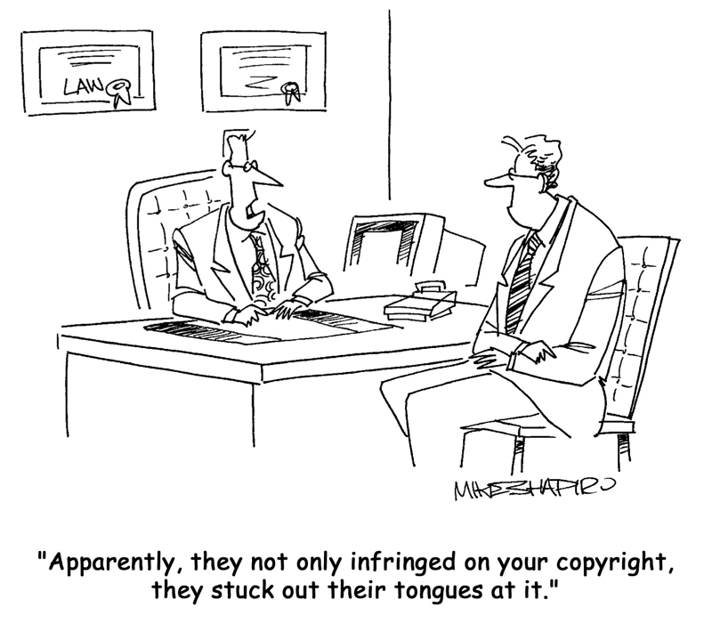 Copyright Cartoon from iClipArt.com