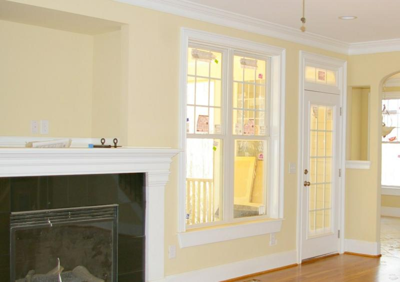 Ideas for interior trim molding ehow com omahdesigns net for Interior window molding designs