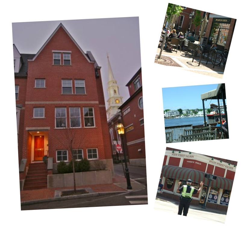 Portsmouth new hampshire luxurious townhouse downtow for Adara salon durham nh